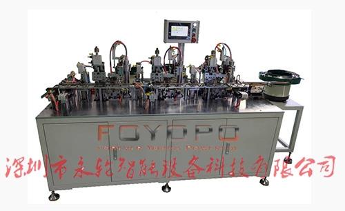 浙江LED 3MM方形指示灯座自动组装机