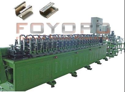 Hinge, sheet metal roll forming machine