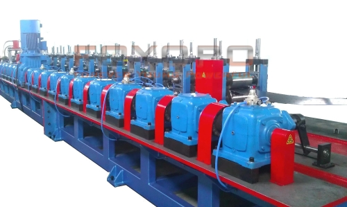 Seat steel beam roll forming machine Cold bending machine Rolling machine Round steel pressing machine Rolling forming machine Shaped steel forming line