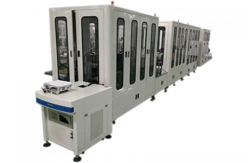 Automotive fuel pump automation production line