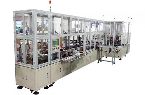 Auto hand brake automatic assembly machine equipment